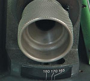 Detail brúska na vrtáky GS-5